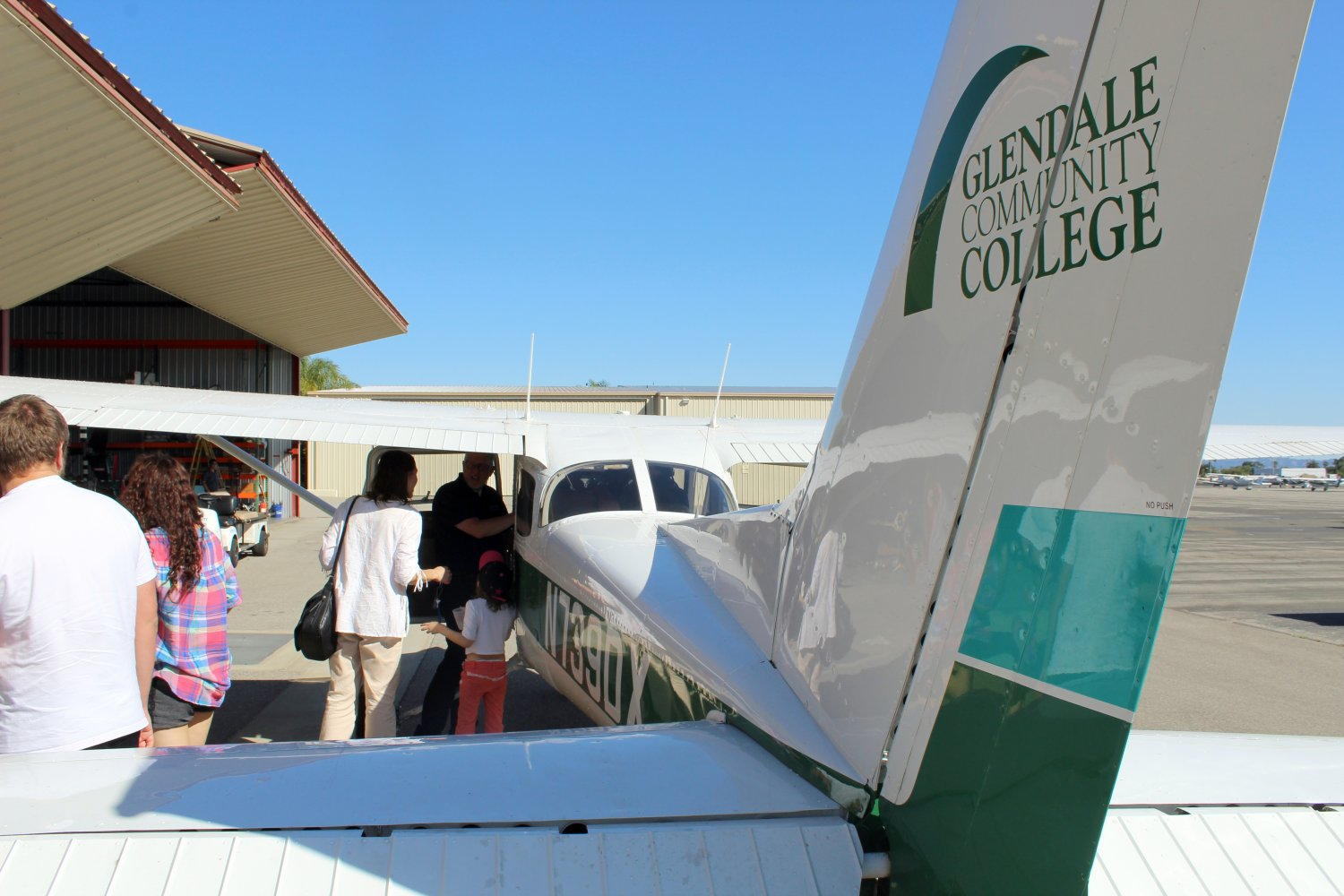 Flight Tours at the Open House