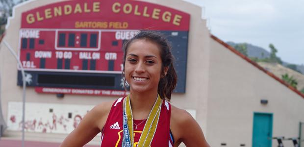 TRIPLE+CROWN%3A+Grace+Graham-Zamudio+became+the+first+woman+in+California+Community+College+history+to+win+three+meter+events+in+the+same+meet+on+May+17+to+18.