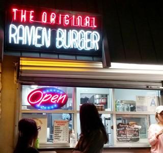 Ramen Burger Delights Customers