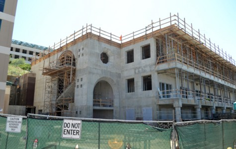 Construction Falls Behind As New Project Progresses