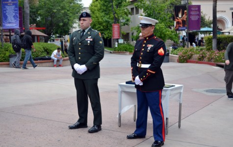 Campus Commemorates Memorial Day