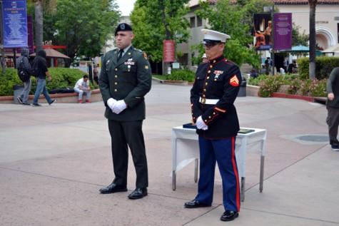 Campus Commemorates Memorial Day