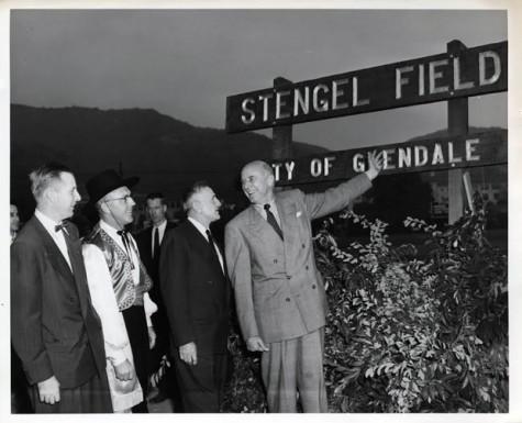 Stengel Field Gets Makeover