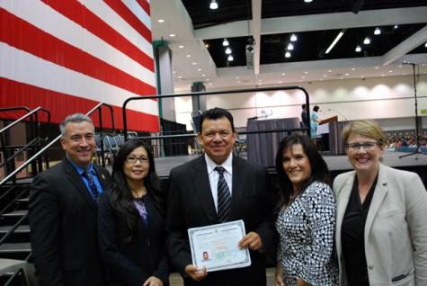 USCIS Proudly Welcomes Legendary Dodger Fernando Valenzuela as a New U.S. Citizen