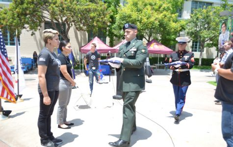 Campus Veterans Observe Memorial Day