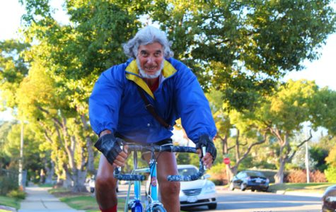 Retired Professor Pedals for Haiti Relief Funds