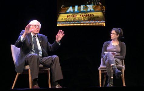 Bernie Sanders Talks with Sarah Silverman