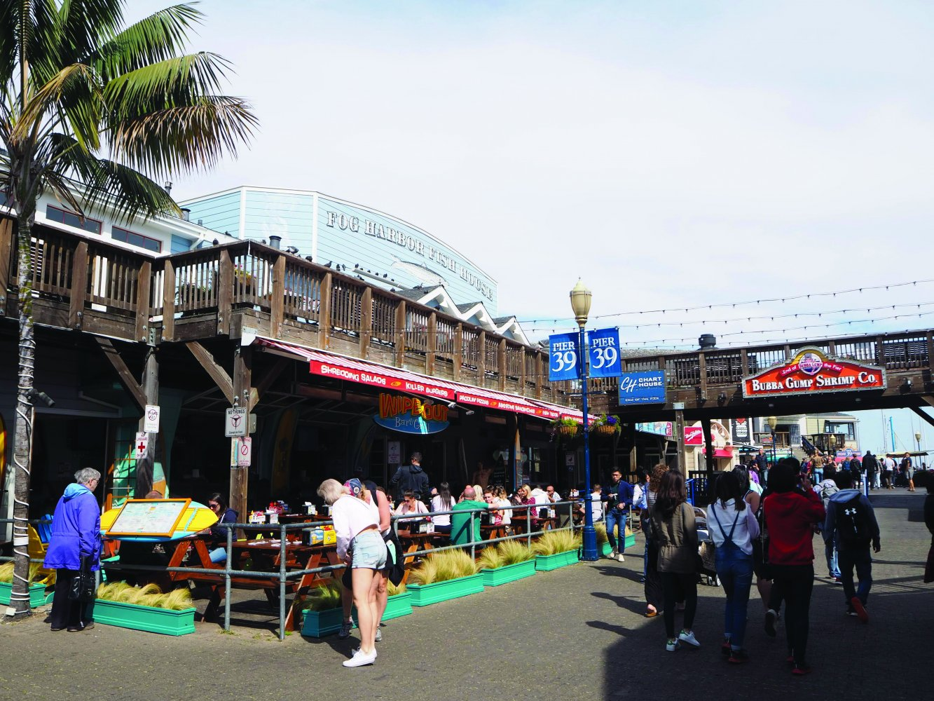 5. Have Dinner at Pier 39