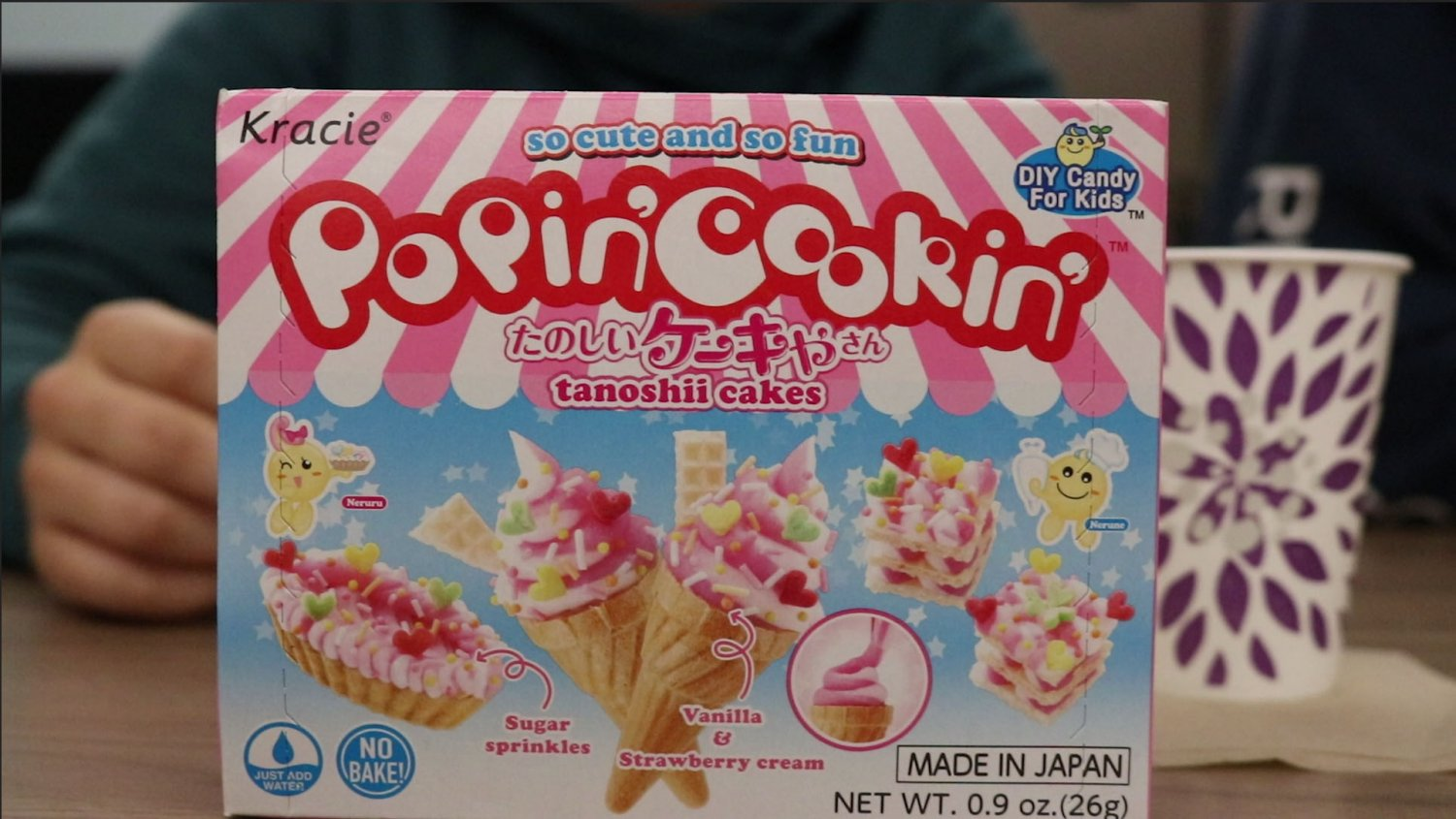 Popin' Cookin' Ice Cream