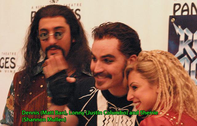 Dennis, Lonny and Sherri