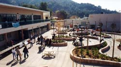 The Sierra Madre building opened in time for the beginning of the Spring semester.