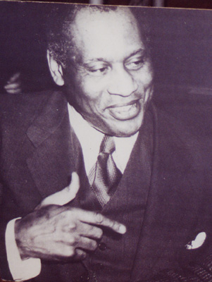Paul Robeson in the 1950s
