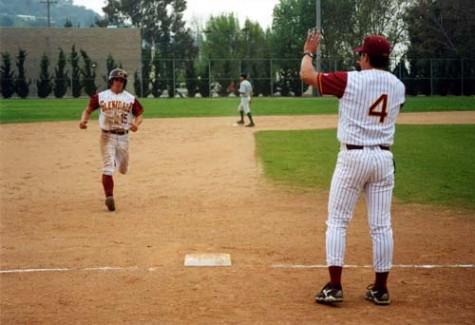 - Photo by Yair TaylorJohn Manuel during his homerun.