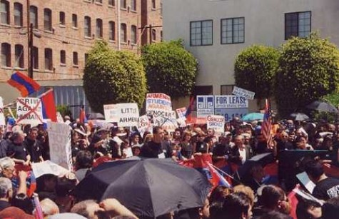 -Photo by Roderick DanielsThe March at Little Armenia in Hollywood showed strength and unity in the Armenian community.