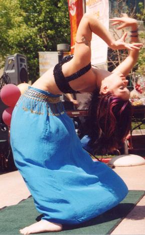 Boneless dancer Daniela Davies.