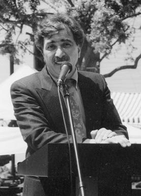 Professor of History Dr. Levon Marashlian.