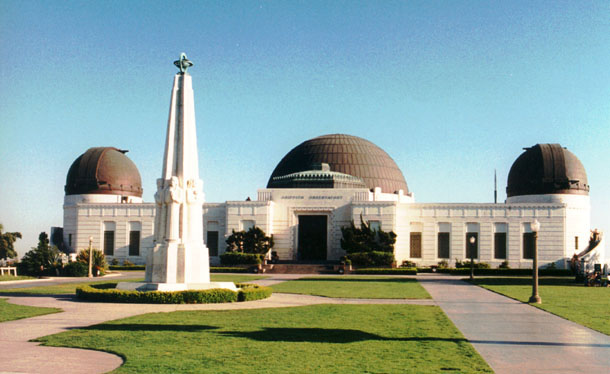 The Griffith Observatory is closed for restoration until 2005.