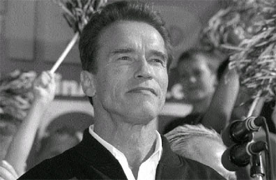 Arnold Schwarzenegger was elected governor of the state of California on Oct. 7.