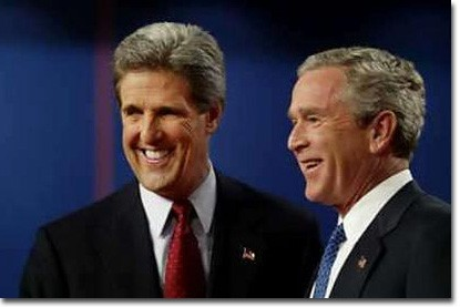 President George W. Bush and Democratic challenger Sen. John Kerry are in a statistical dead heat in the White House race ahead of their second face-to-face debate, according to a Reuters/Zogby poll released on Oct. 10. Bushs lead over the Massachusetts