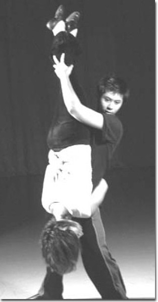Reyes performing a dance from School Daze, at GCCs theater.