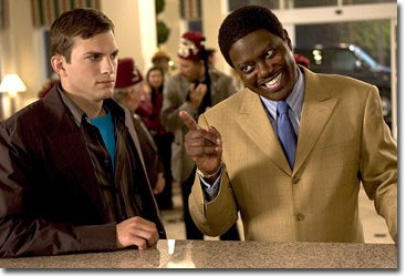 Ashton Kutcher and Bernie Mac in Columbia Pictures'