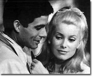 Nino Castelnuovo and Catherine Deneuve in the 1964 French film