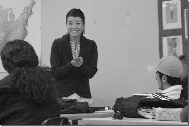 Hailing from the city of Pacoima, professor Fabiola Torres often uses herself as an example to reinforce lectures in her Ethnic Studies Classes.