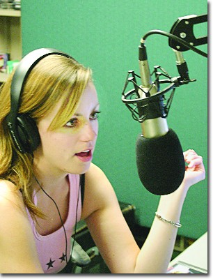 Sarah Menold rules the airwaves from 5 to 9 p.m. on Mondays.