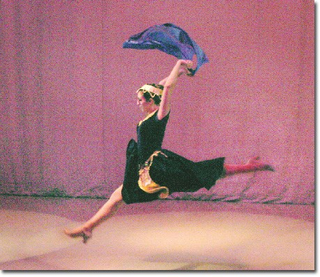 Waltz of the Swan, top, was choreographed by Helen Zohrabians. Her troupe also perfomed an Armenian Folk Dance called Ov Haiots Ashkar.