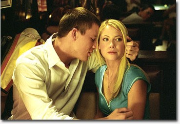 Channing Tatum and Laura Ramsey in DreamWorks Pictures'