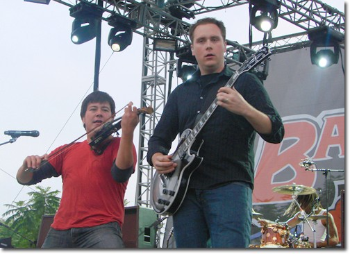 Yellowcard performed a two-hour- long set that left the crowd wanting more.