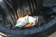 The absence of recycling bins on campus leave GCC students with no other choice but to throw away recyclables into regular trash cans.
