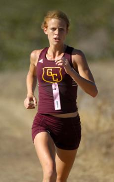 Sophmore Tove Berg leads Lady Vaqueros to another Western State Championship.