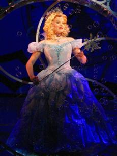 Megan Hilty, gets Galinda-fied one last time on May 18 . Hilty is leaving Oz after four amazing years.