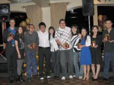 2008 graduates: Martin Weiss, left, Hyejin Kim, Moody Yousry, Joshua Dailo, Fabienne Niederberger, Marvin Yousry, Nune Shakhramanyan, Yuka Kamiya, Lai Kuen Grace Cheng and Miguel Gomez.