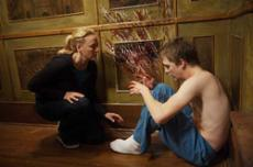 POSSESSED: Sara Campbell (Virginia Madsen) moves her family to an old Connecticut Victorian home to be closer to her teenaged son, Matt (Kyle Gallner), who has been receiving cancer treatments. He may be receiving psychic messages from the dead as well.