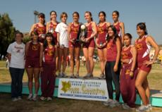 RUN, FORREST, RUN: Womens cross country won its fourth consecutive SoCal championship.