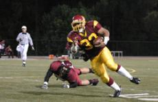 FINAL GAME IN AN OUTSTANDING CAREER: Running back Willie Youngblood led the Vaqueros in the 2009 season with 182 carries for 819 rushing yards and six touchdowns. Some of his individual game highs include: 32 rushes for 258 rushing yards against Moorpark