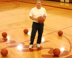 31 YEARS ON THE COURT Coach Brian Beauchemin won his 500th game in February 2008.