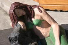 ONE OF A KIND: Nearly everything imaginable is for sale at the GCC Swap Meet - even mermaids.