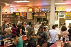 THAT'S HOW WE ROLL: French dip sandwiches made Philippe's famous, low prices and great food have kept customers coming back for more than 100 years.