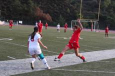 ITS A TIE: The Lady Vaqueros battled the Bakersfield Renegades. The game ended in a tie, 1-1.