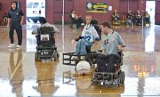 READY TO ROLL: The 2010 Glendale Invitational Power Soccer Tournament kicked off last Saturday. The weekend-long event showcased the skill and dedication of disabled athletes and volunteers alike. Glendale's own Rough Riders and Wild Wheelers took to the