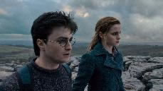 HARRY GETS SCARY: Daniel Radcliffe and Emma Watson, as Harry Potter and Hermione Granger, have dropped out of Hogwarts to battle Lord Voldemort, arguably the most evil wizard of all time.
