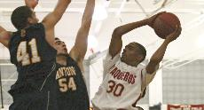 Vaq Attack: Nikolas Rhodes led the Vaqs with 21 points.