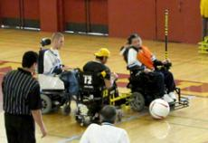 HIGH ROLLERS: Glendale's powersoccer teams played well, but not well enough to defeat Santa Barbara in last week's competition.