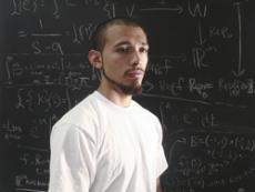 LET X = AN UNKNOWN QUANTITY: Jony Valenzuela is thinking all the time -  frequently about the relationships of shapes and numerical sequences.