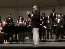 PERFECT HARMONY: The GCC  Choral Fest is one of a number of concerts offered by the music department this month.