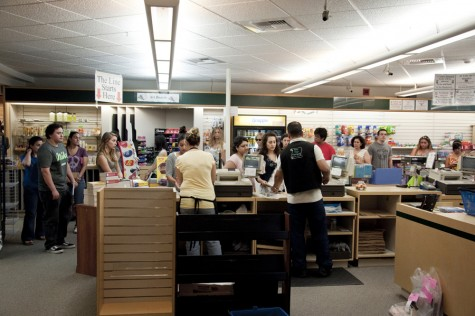 The campus bookstore is about to go private