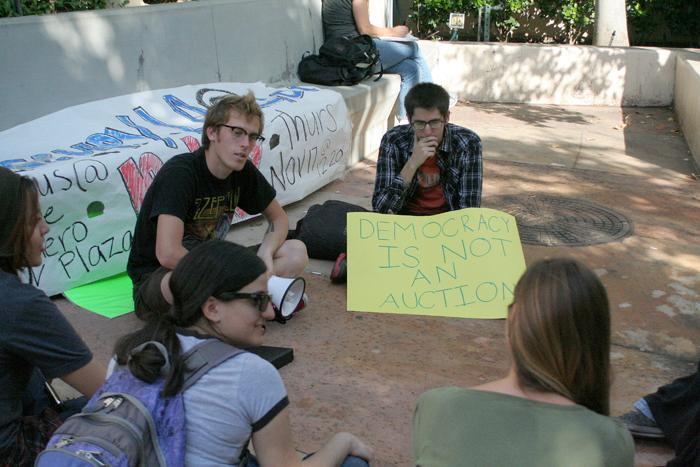 Occupy LA at GCC Holds Informational Teach-in